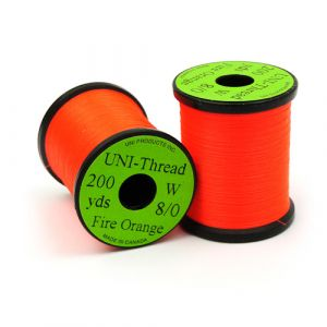 UNI-Thread Fire Orange 8/0